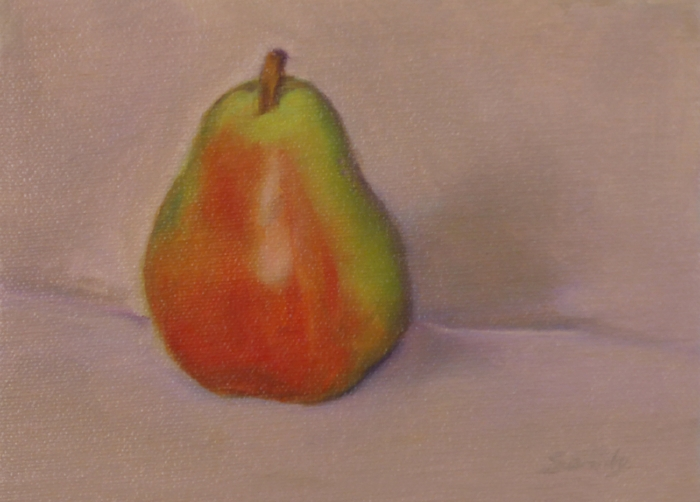 Pear ,5 x 7 inches