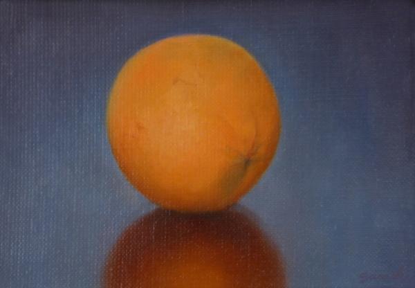 Orange , 5 x 7 inches