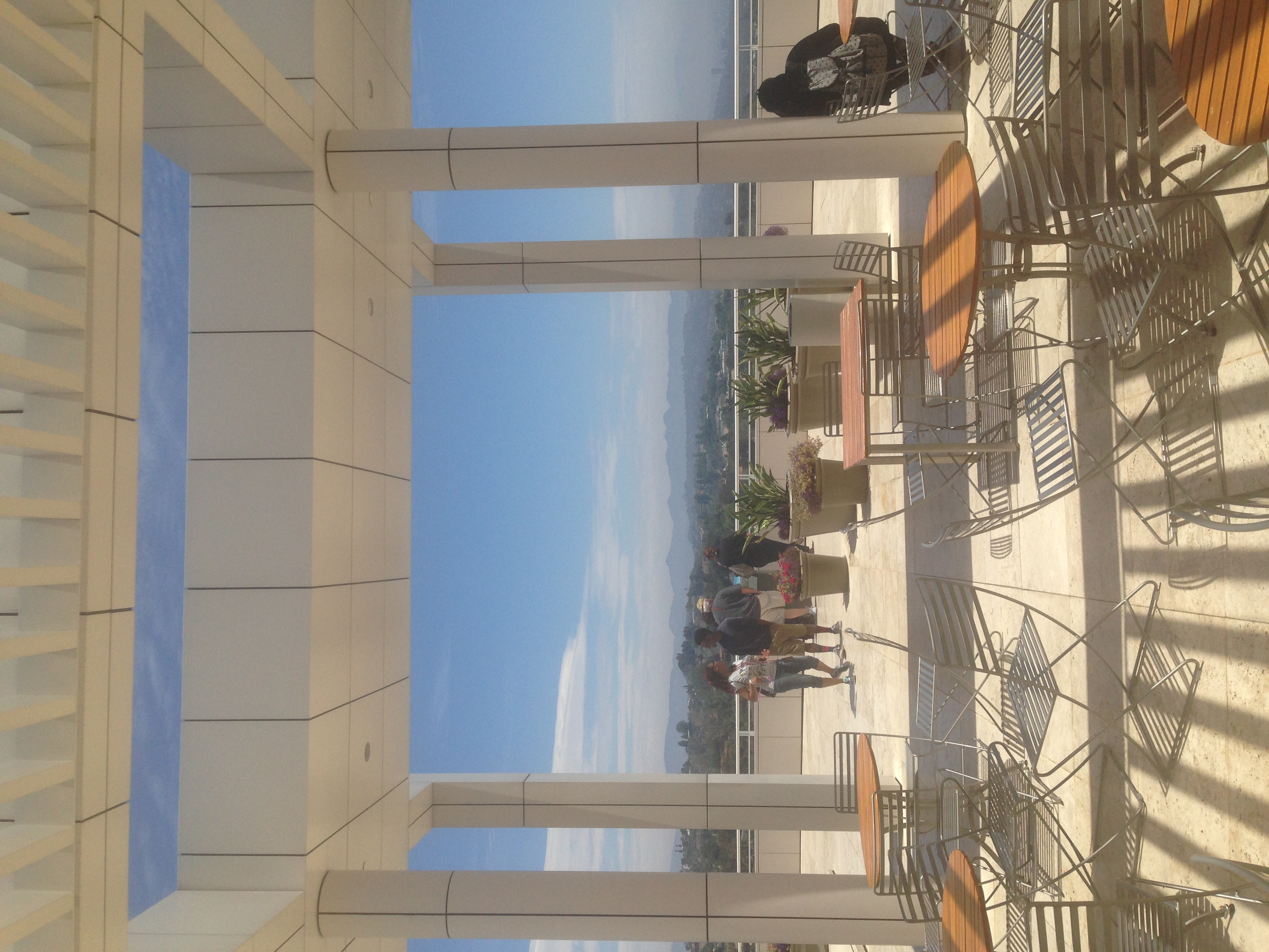 The Getty Museum was unreal! The structure alone had me ooing and ahhing all day. We drank champagne, ate cheese and saw some of Degas' most famous works. What a day!