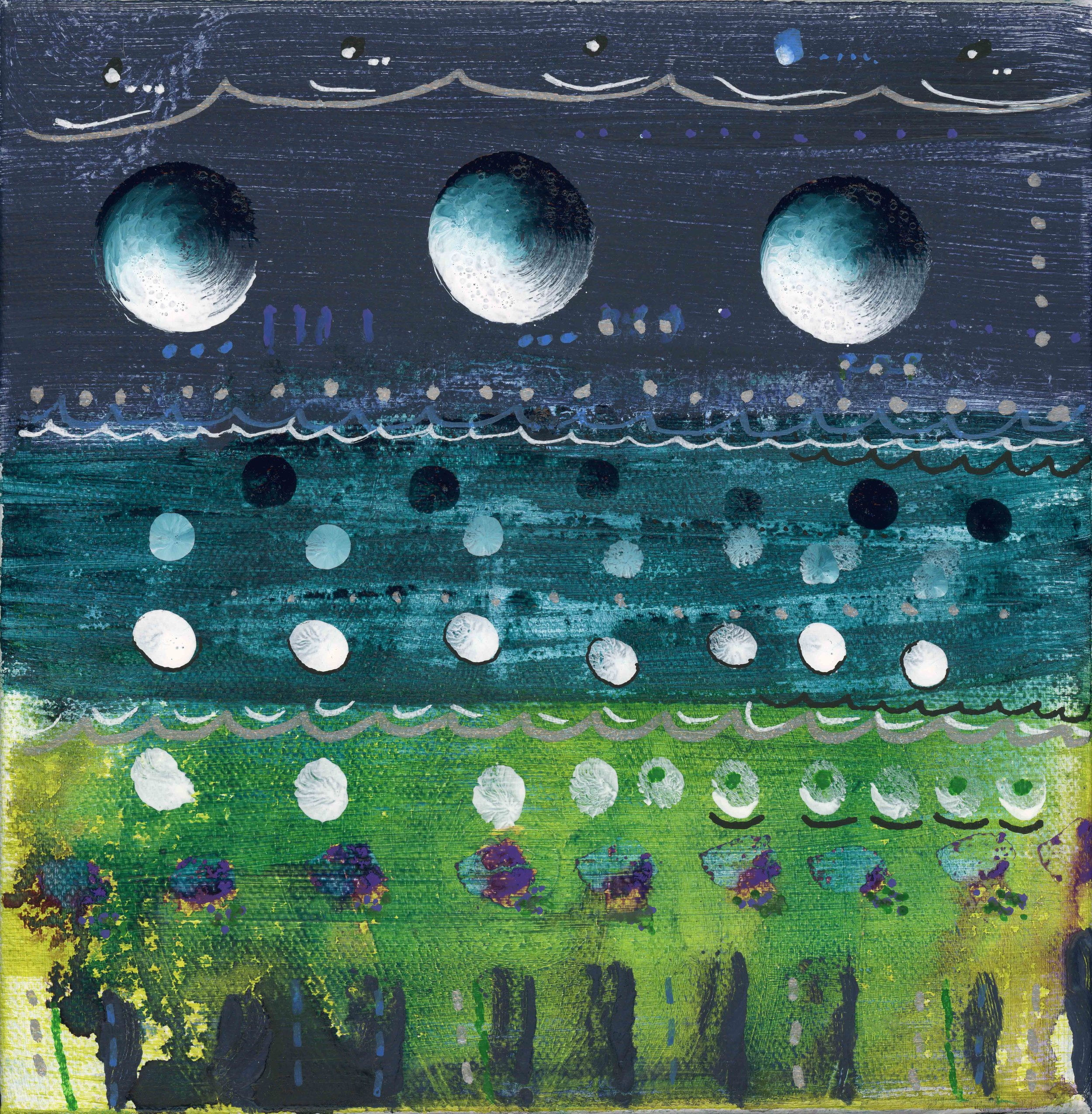 Turquoise Moons
