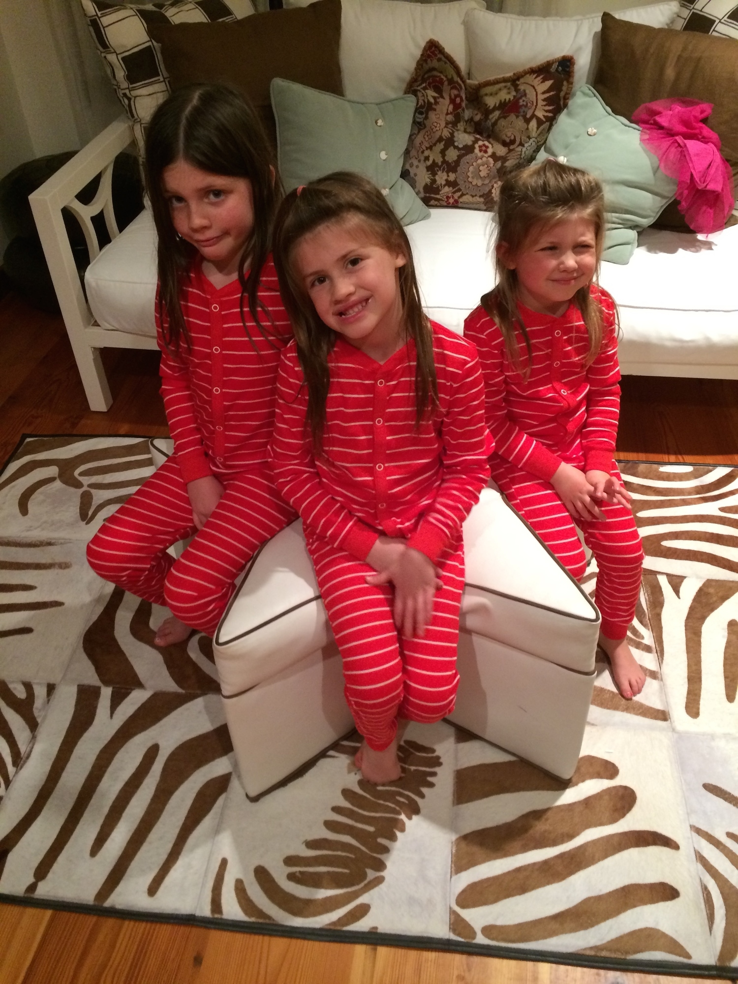 Sleepy Girls: Ransom (7), Ruth Love (6), Camellia (newly 4)