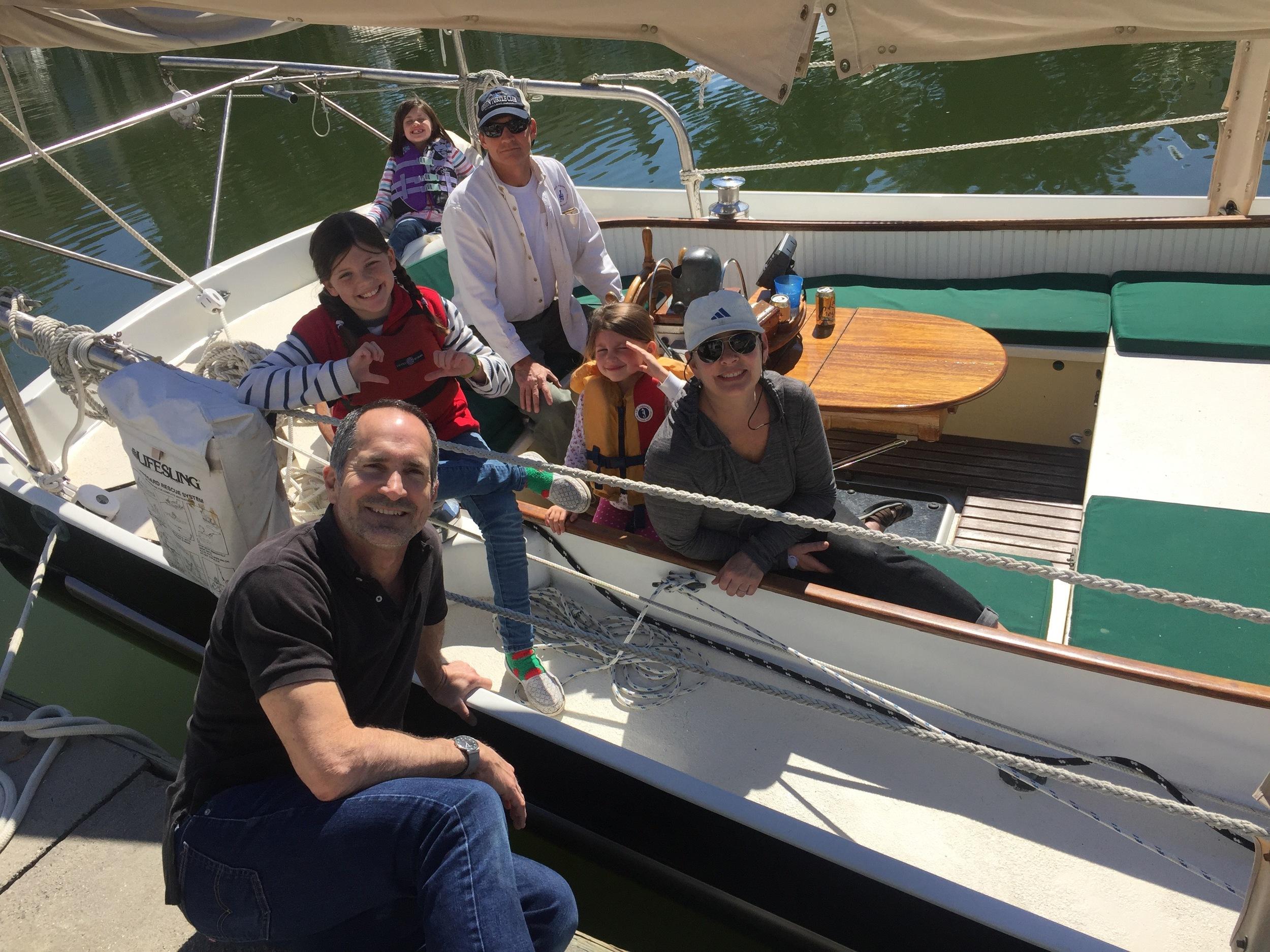 My crew: Greg Schenkel, Ransom Edwards, Ruth Love Edwards, Lee Edwards, Camellia Edwards and Brucie Holler.