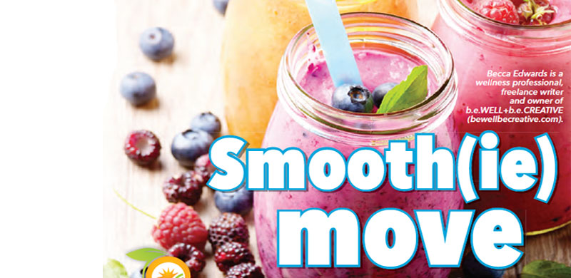 Brighten your day with this smoothie recipe.