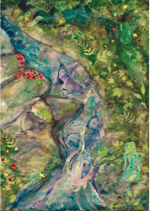 Goddess Creek by Bo and David Menton