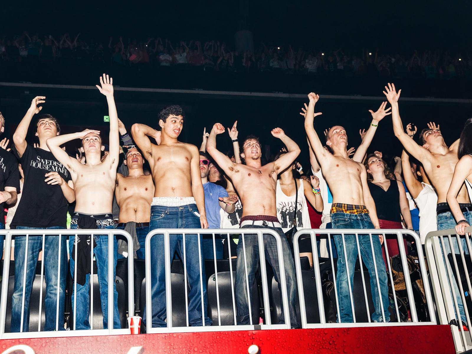 Swedish House Mafia fans