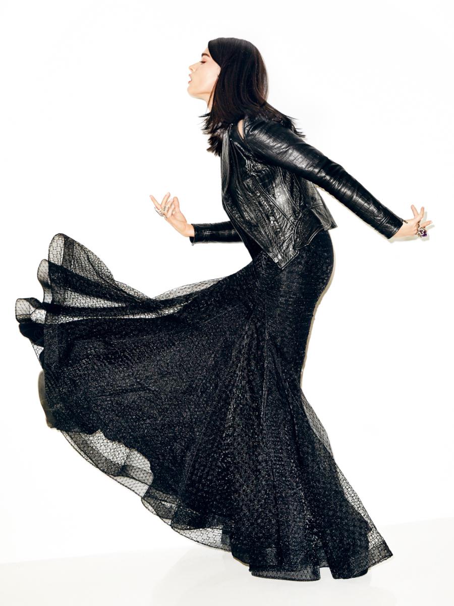 Crystal Renn for Glamour