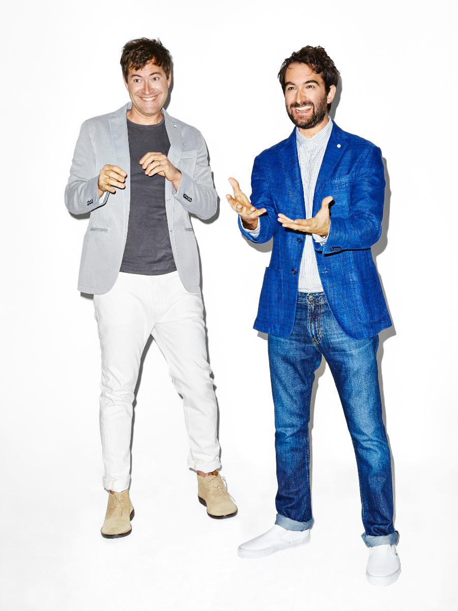 Mark and Jay Duplass for Esquire