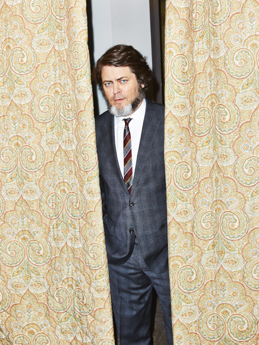 Nick Offerman for Nylon Guys