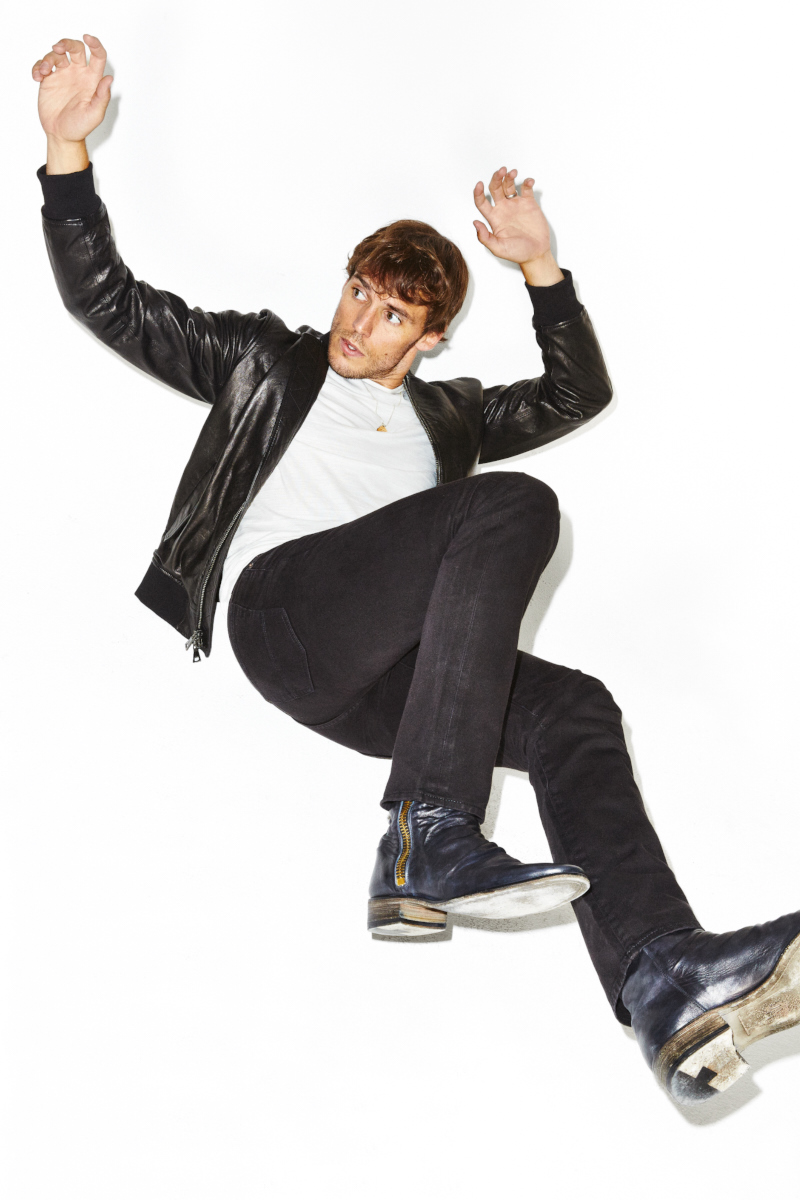 Sam Claflin for Men's Health