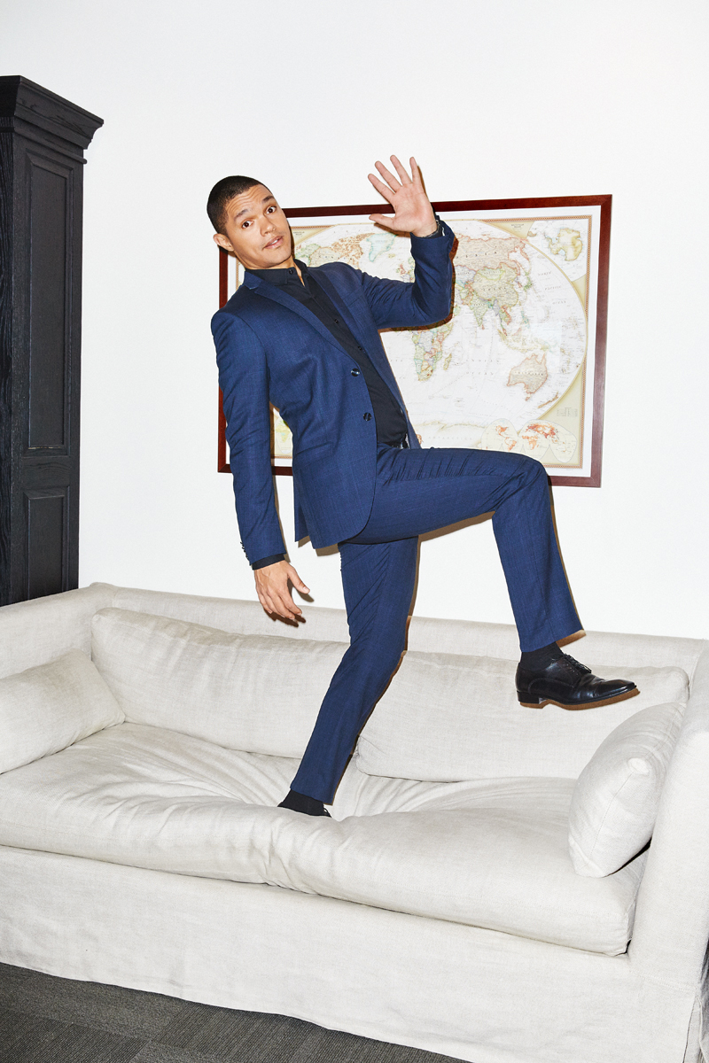 Trevor Noah for The Hollywood Reporter