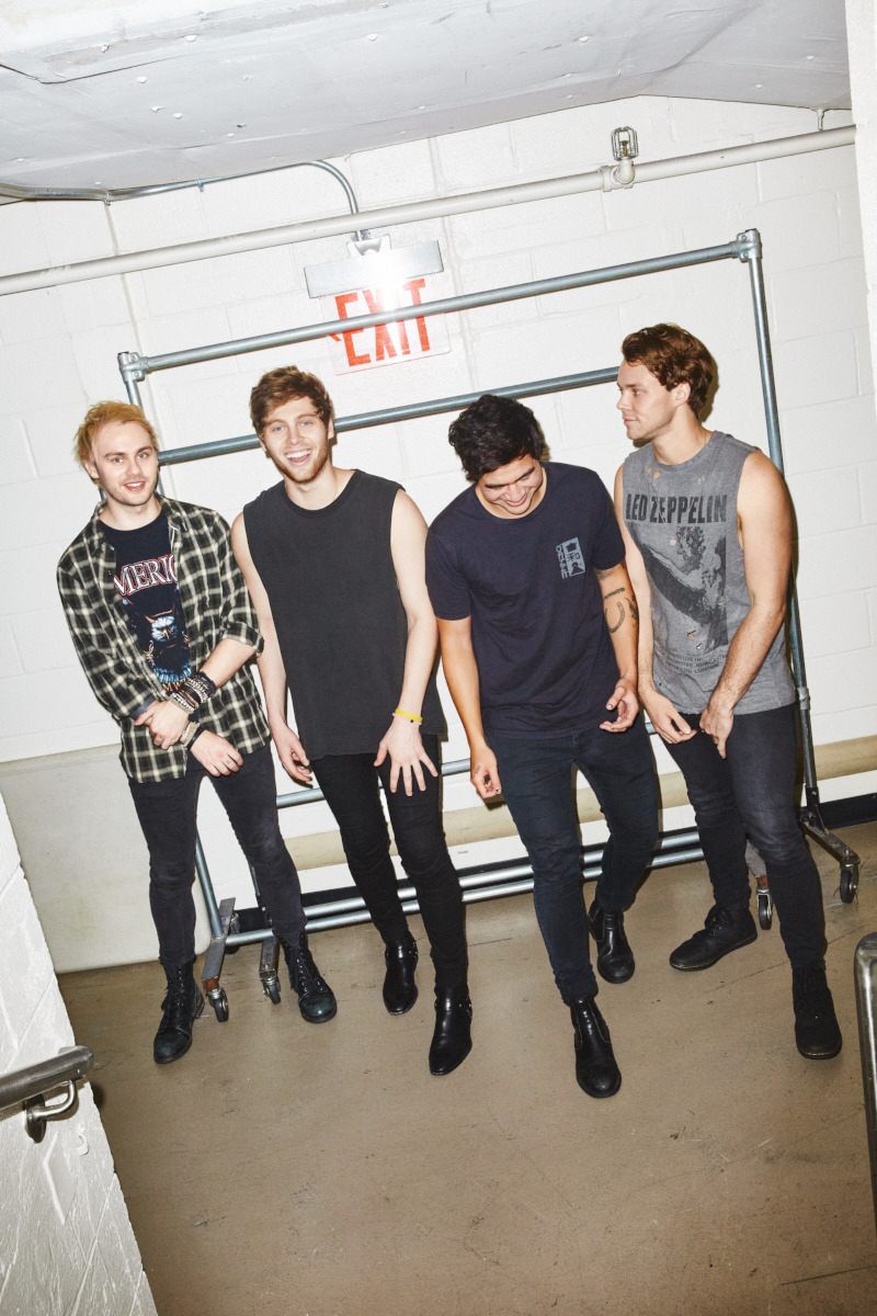 5 Seconds of Summer for Kerrang!