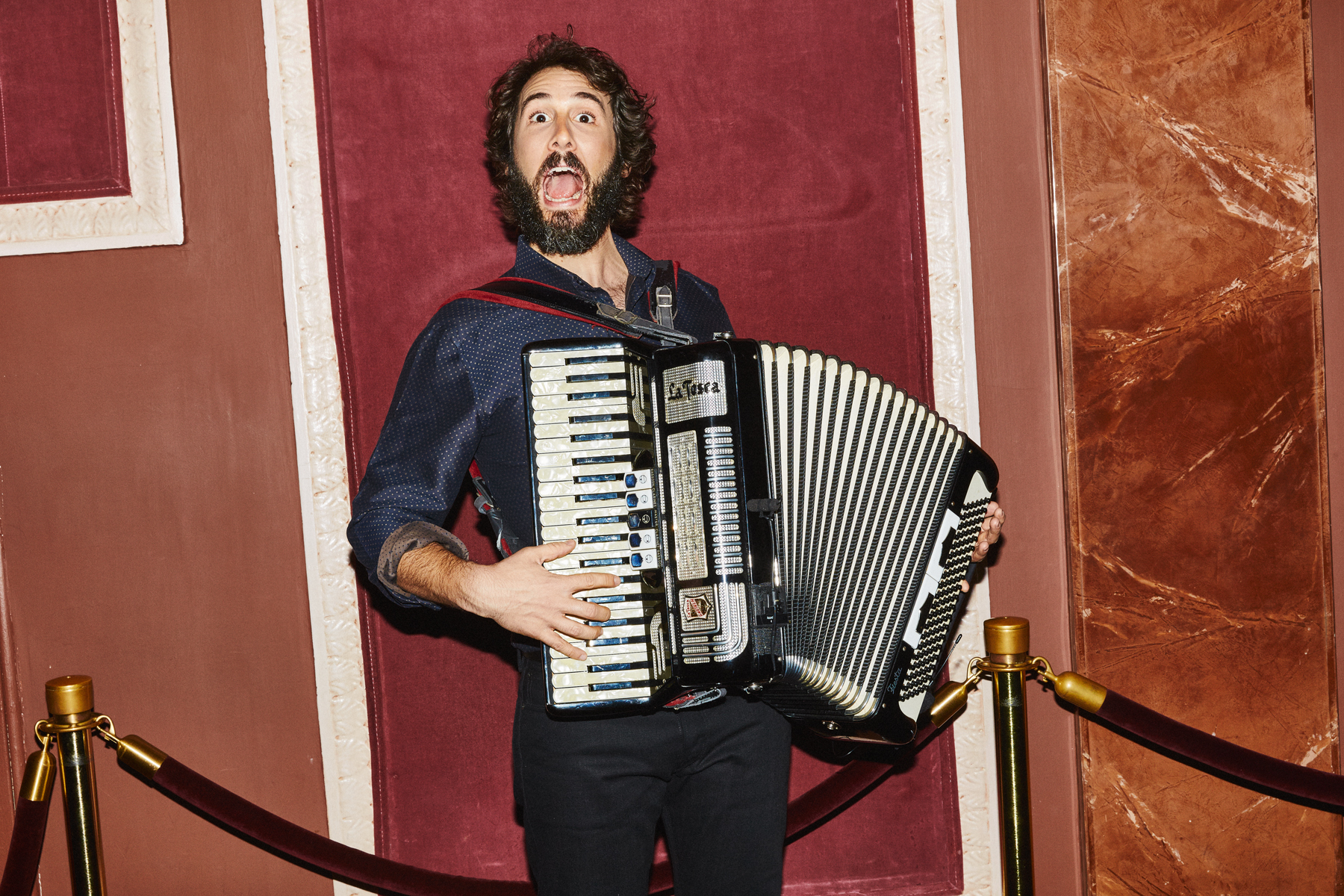Josh Groban for the New York Times