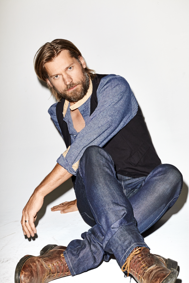 Nikolaj Coster-Waldau for BlackBook