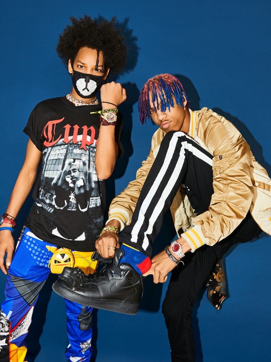 Ayo and Teo for Billboard