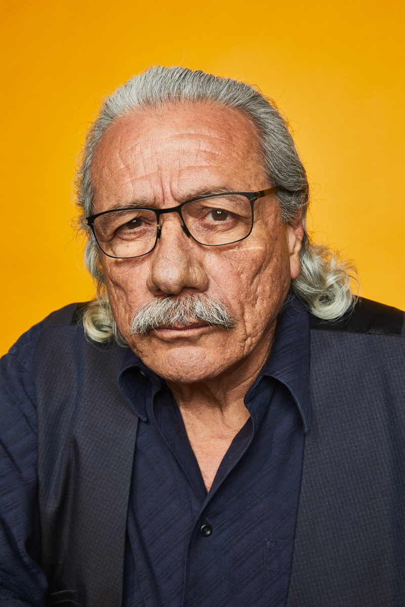 Edward James Olmos at Comic-Con 2019 for Getty Entertainment