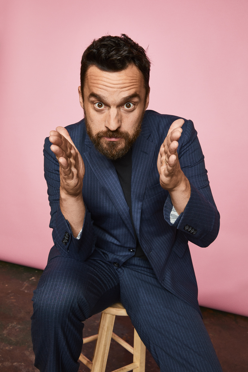 Jake Johnson at Comic-Con 2019 for Getty Entertainment