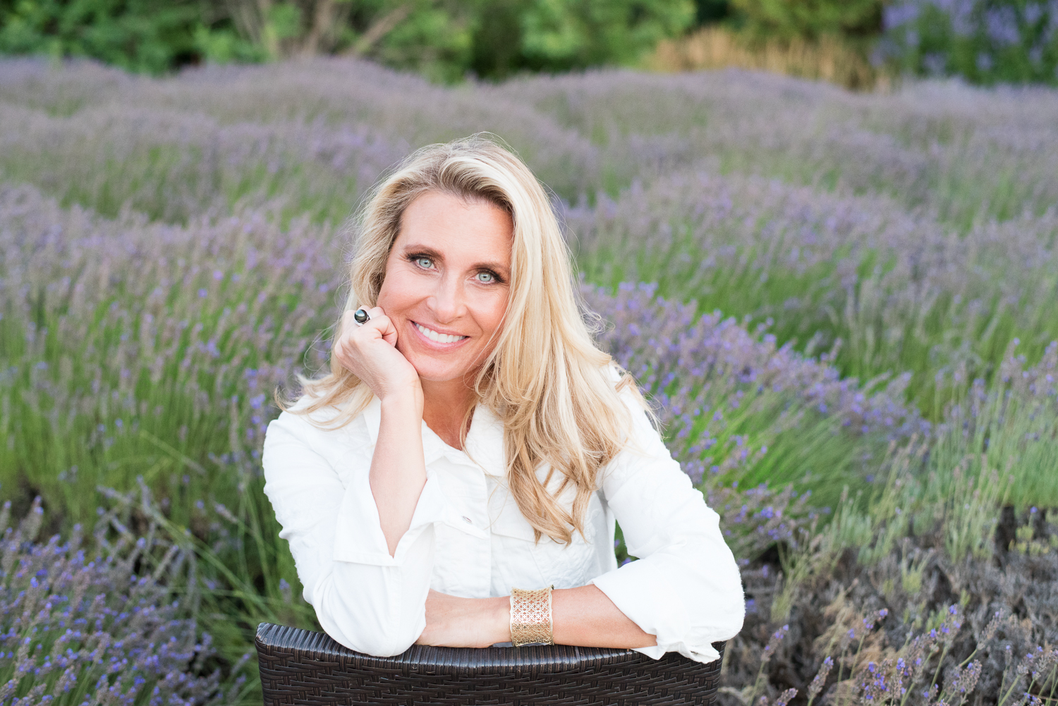 Personal Branding with a casual setting outdoors in Sonoma County, CA