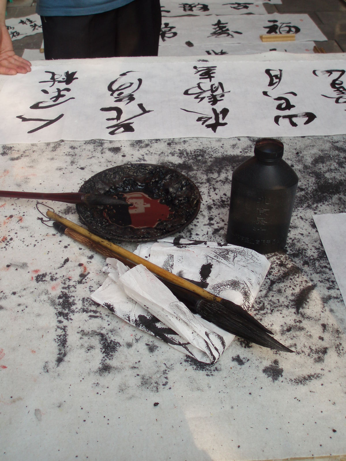 Traditional painting seems to me to be the best analogy to comprehend the essence of Chinese Opera.