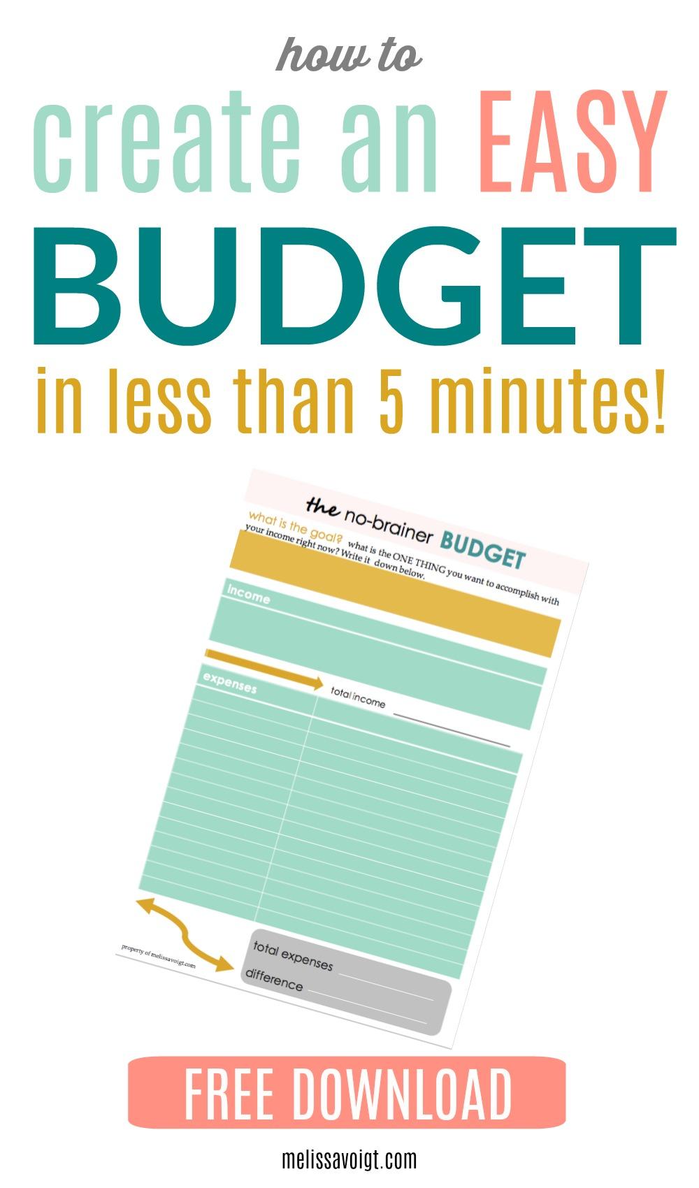 no-brainer budget.jpg