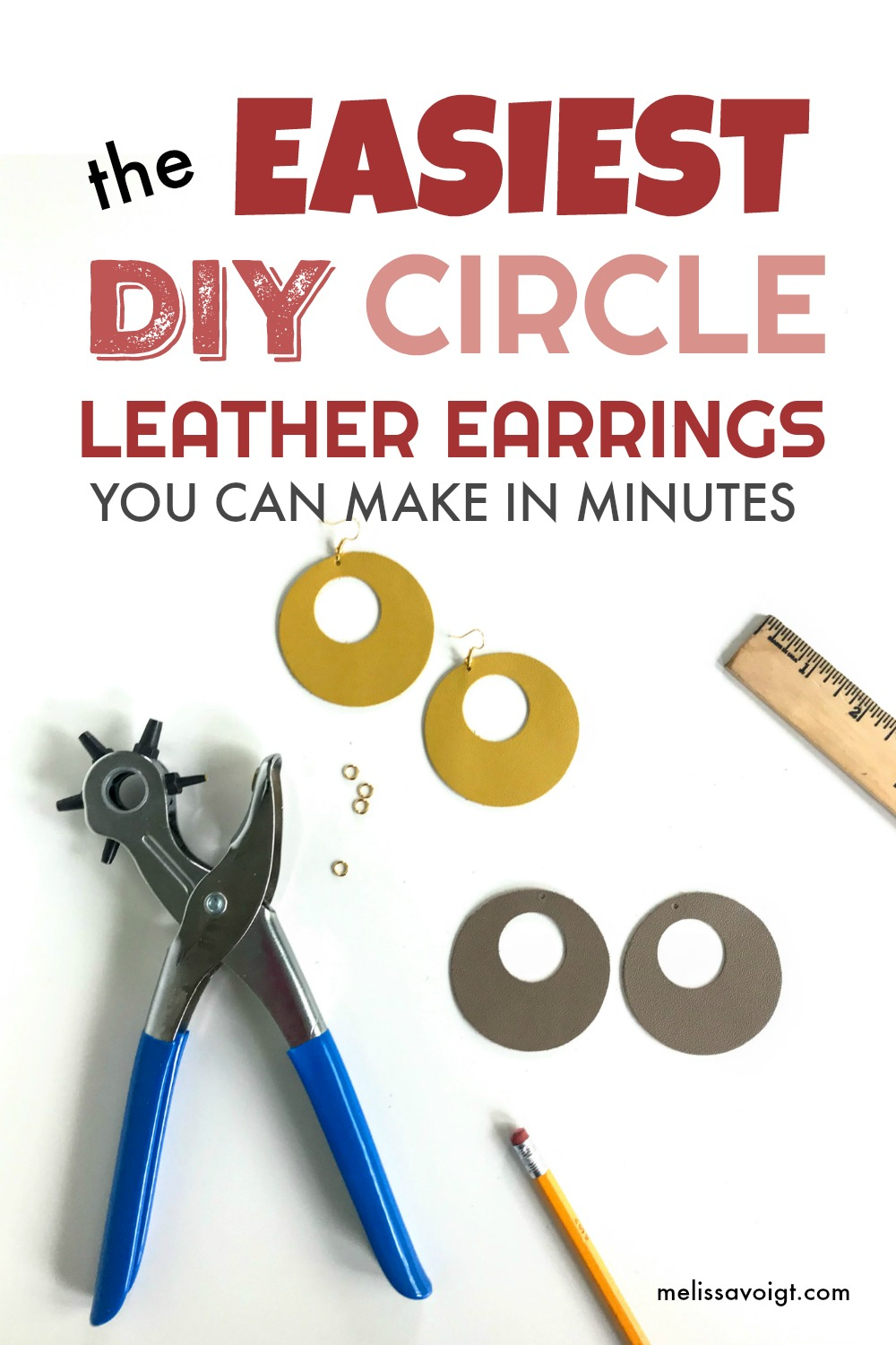 diy cirlce leather earrings no cutting machine.jpg