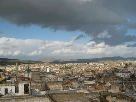 A View of Fes, Morocco