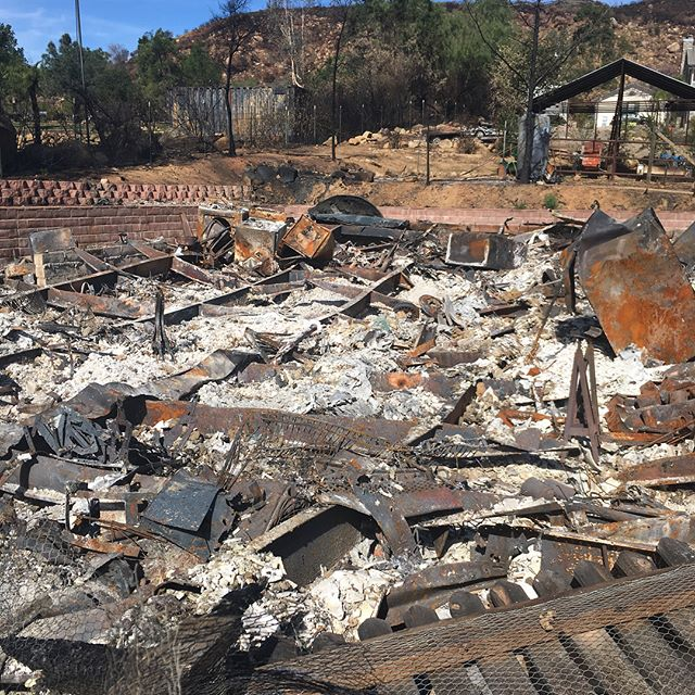 Ojai is still recovering. https://www.gofundme.com/phil-and-dana-phillips-fire-relief #thomasfire #805 #ojai