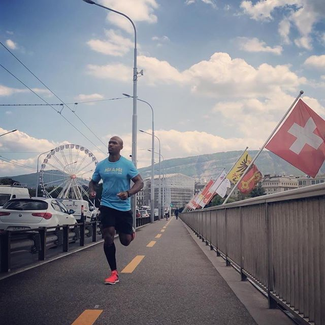 #BRKTHRU #rp @herc3k ・・・ Even in Switzerland..... I'm gonna put the fun on pause and get some miles in. I've built an appreciation for the  health benefits of running and the mental clarity it's given me in times it was needed. I'm thankful for the men i call brothers that introduced me to the running culture. #OhLetsYusuf #NxlevelTravel #Switzerland #NoStruggleNoProgress