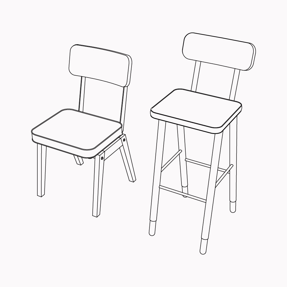 Cadeiras/Banquetas