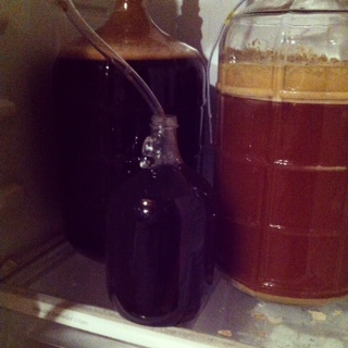 stout and ipa fermenting.JPG