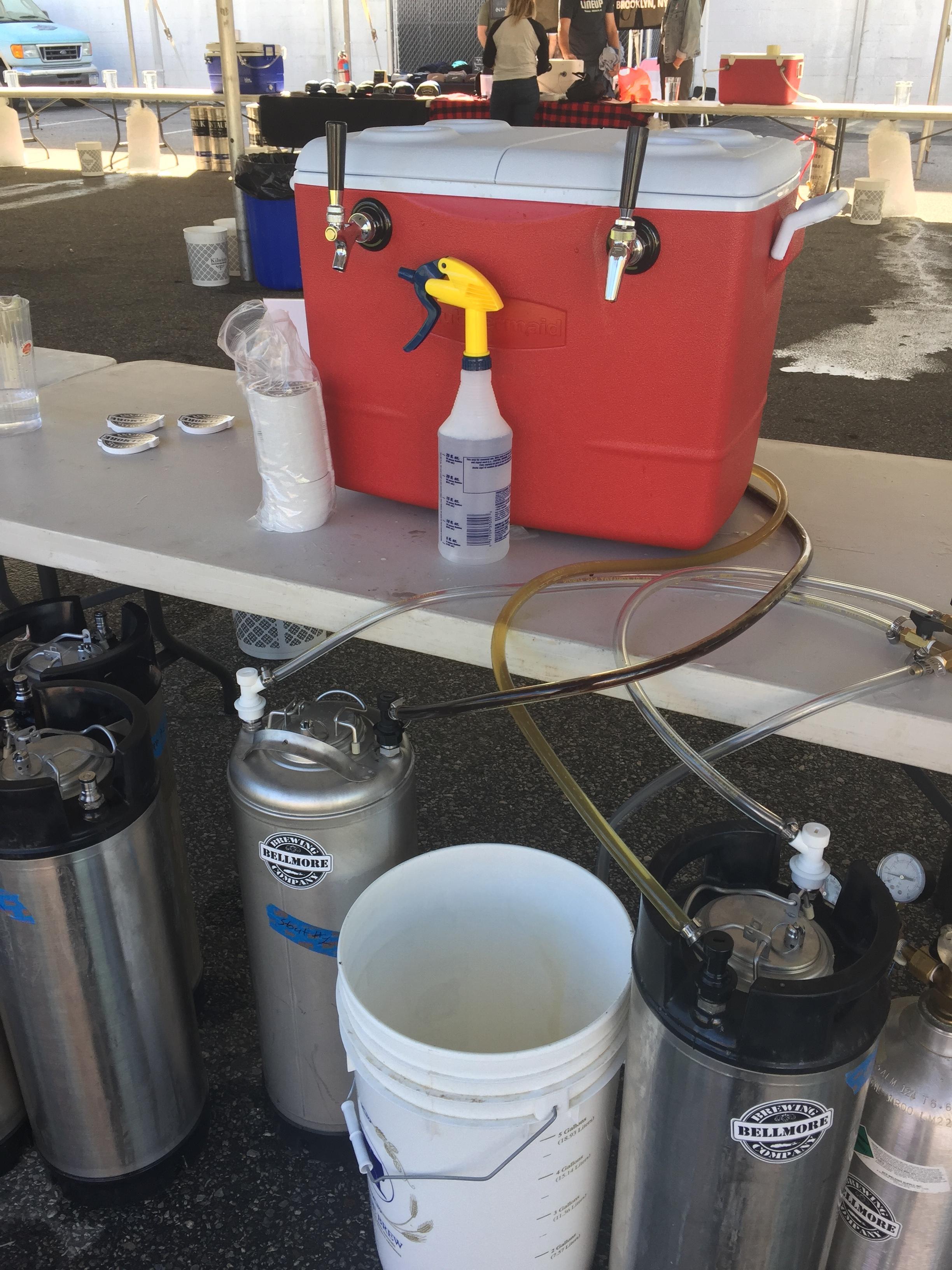 bellmore brewing punktoberfest 2017 booth setup 2.JPG