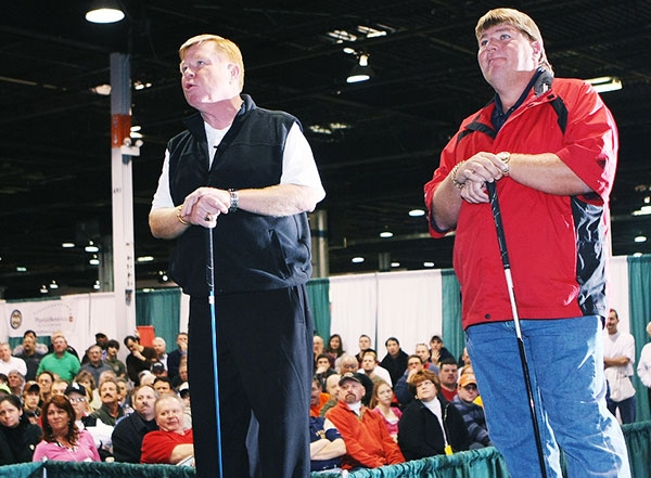 John Daly and Marty Joyce take the Daily Herald Main Stage