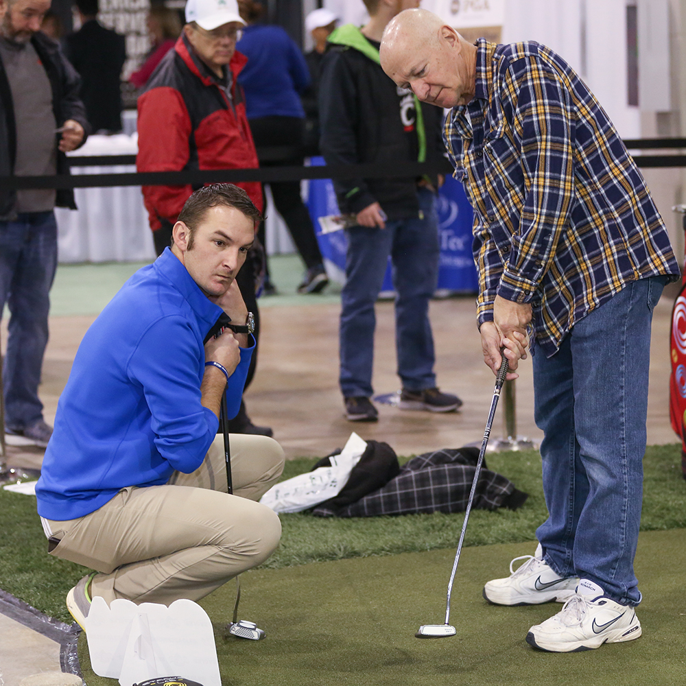 IPGA pros are always on hand providing free lessons to get you ready for the season