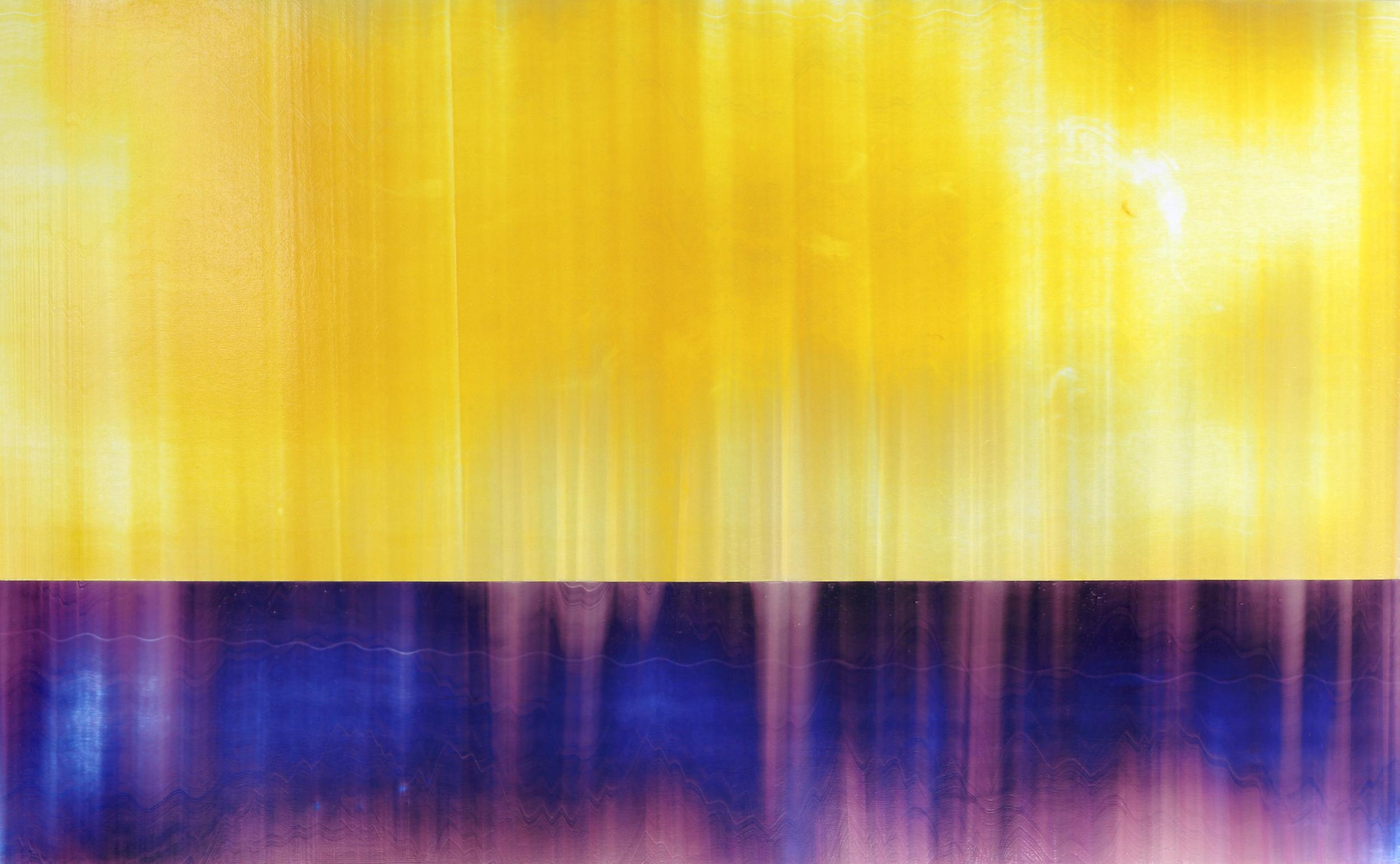 """Untitled  Thomas Zitzwitz ZW164 Acrylic on Canvas 46"""" x 75"""""""