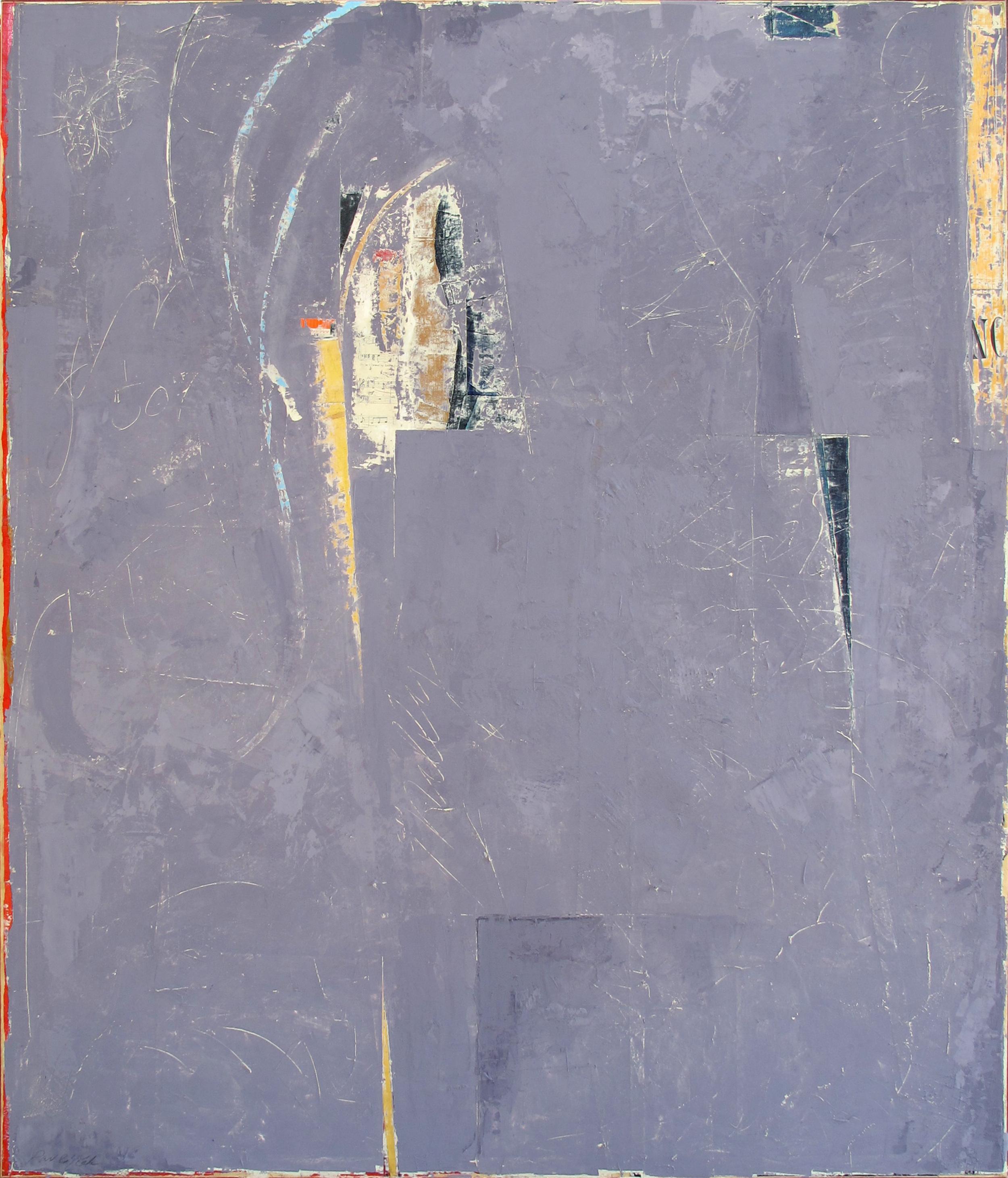 "Milinka  John Pavlicek JP3365 Mixed Media on Canvas 60"" x 48"""
