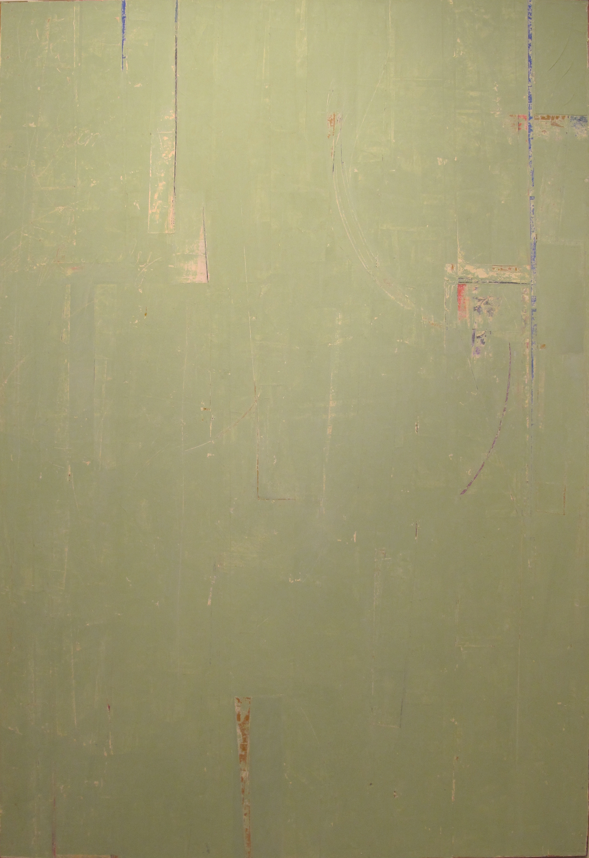 "Just Enough  John Pavlicek JP3342 Mixed Media on Canvas 72"" x 48"""