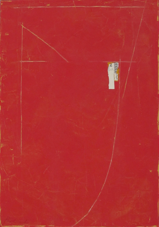 "Untitled   John Pavlicek JP3332 Mixed Media on Canvas 22"" x 30"""
