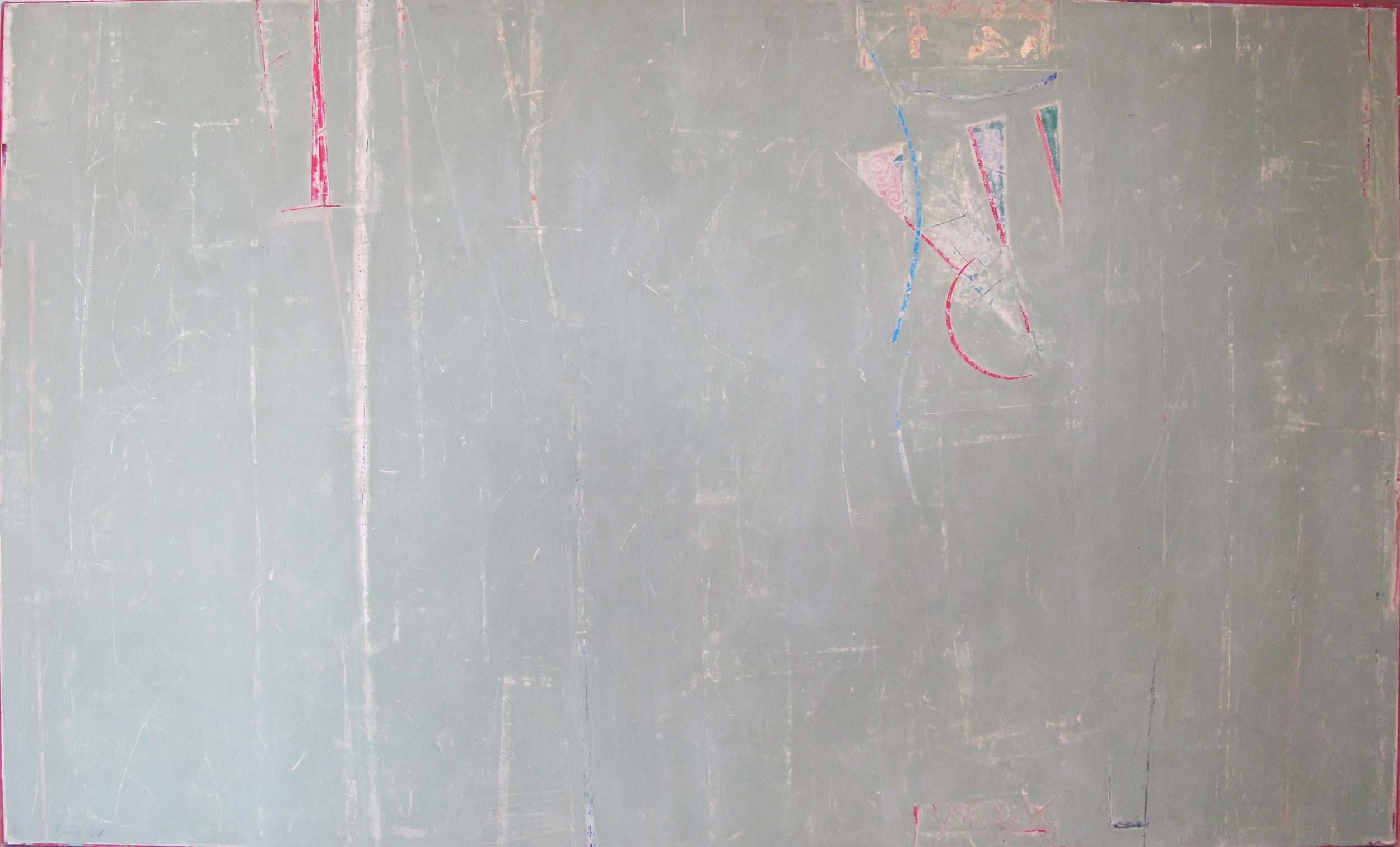 "Sage at Rest  John Pavlicek JP3321 Mixed Media on Canvas 36"" x 60"""
