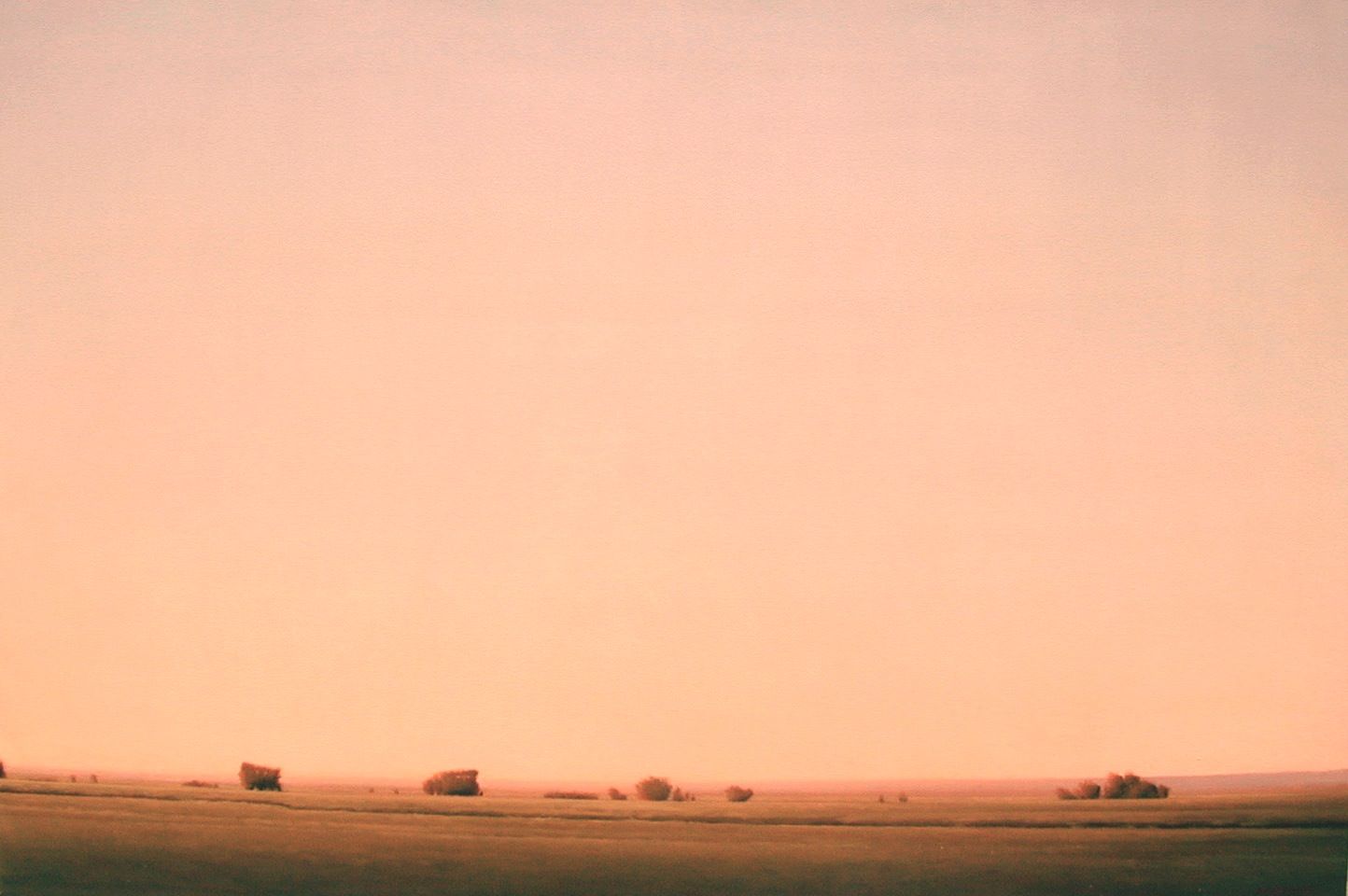 "Tis Eventide  Bruce Brainard BR718 Oil on Linen 48"" x 72"""