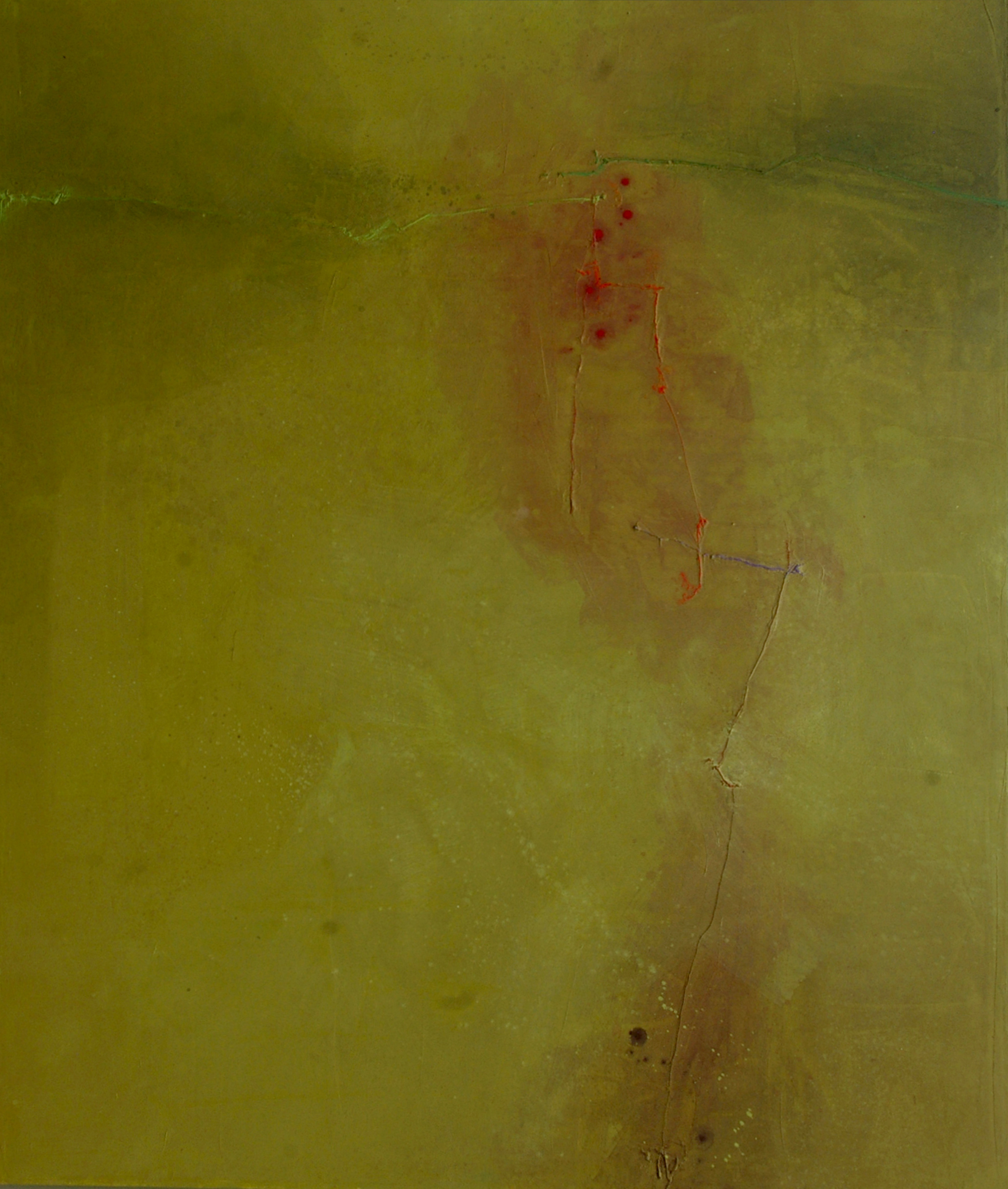 "Kiowa        Robert Rector RE4673 Mixed Media on Canvas 72"" x 60"""