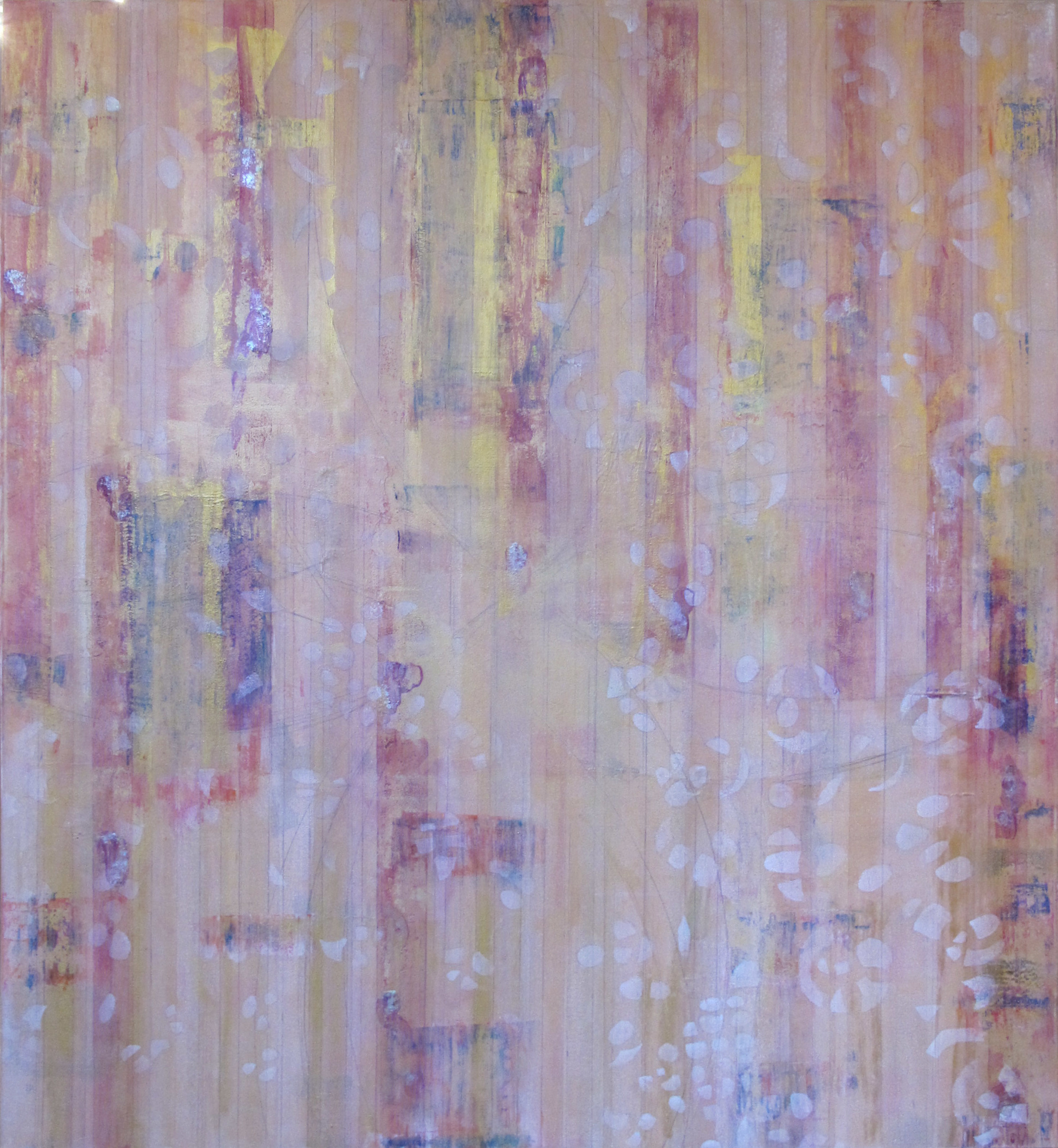 "Liminal Spaces  84 Elizabeth Chandler EC1066 Acrylic on Canvas 60"" x 54"""