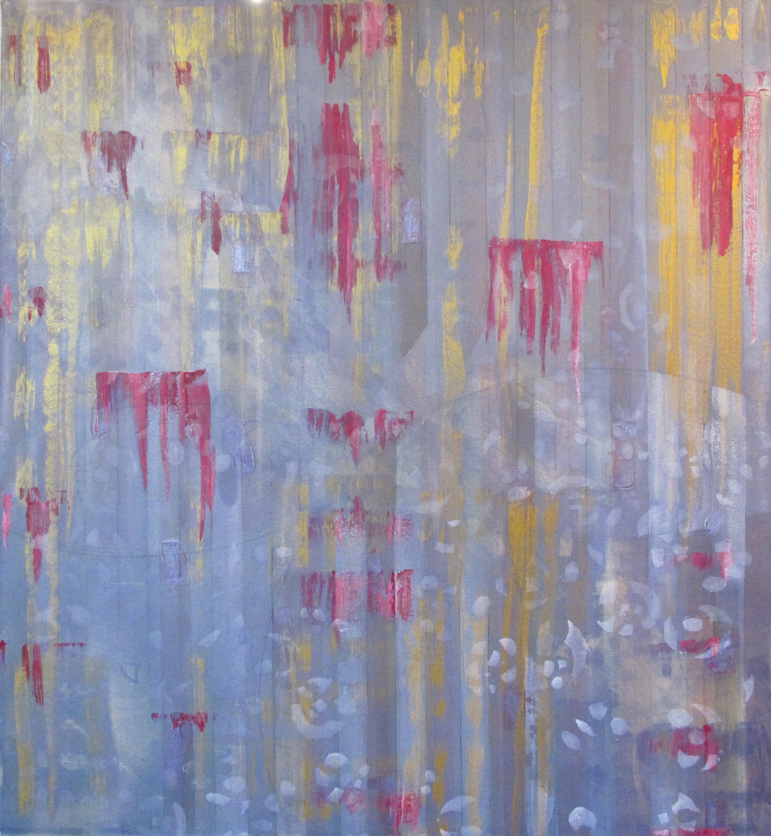 "Liminal Spaces  86 Elizabeth Chandler EC1063 Acrylic on Canvas 60"" x 54"""