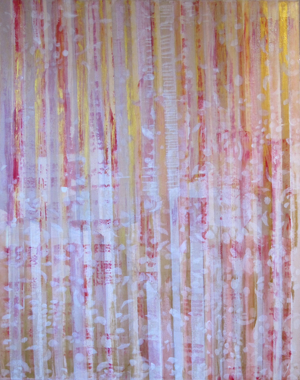 "Liminal Spaces  40 Elizabeth Chandler EC1060 Acrylic on Canvas 72"" x 54"""