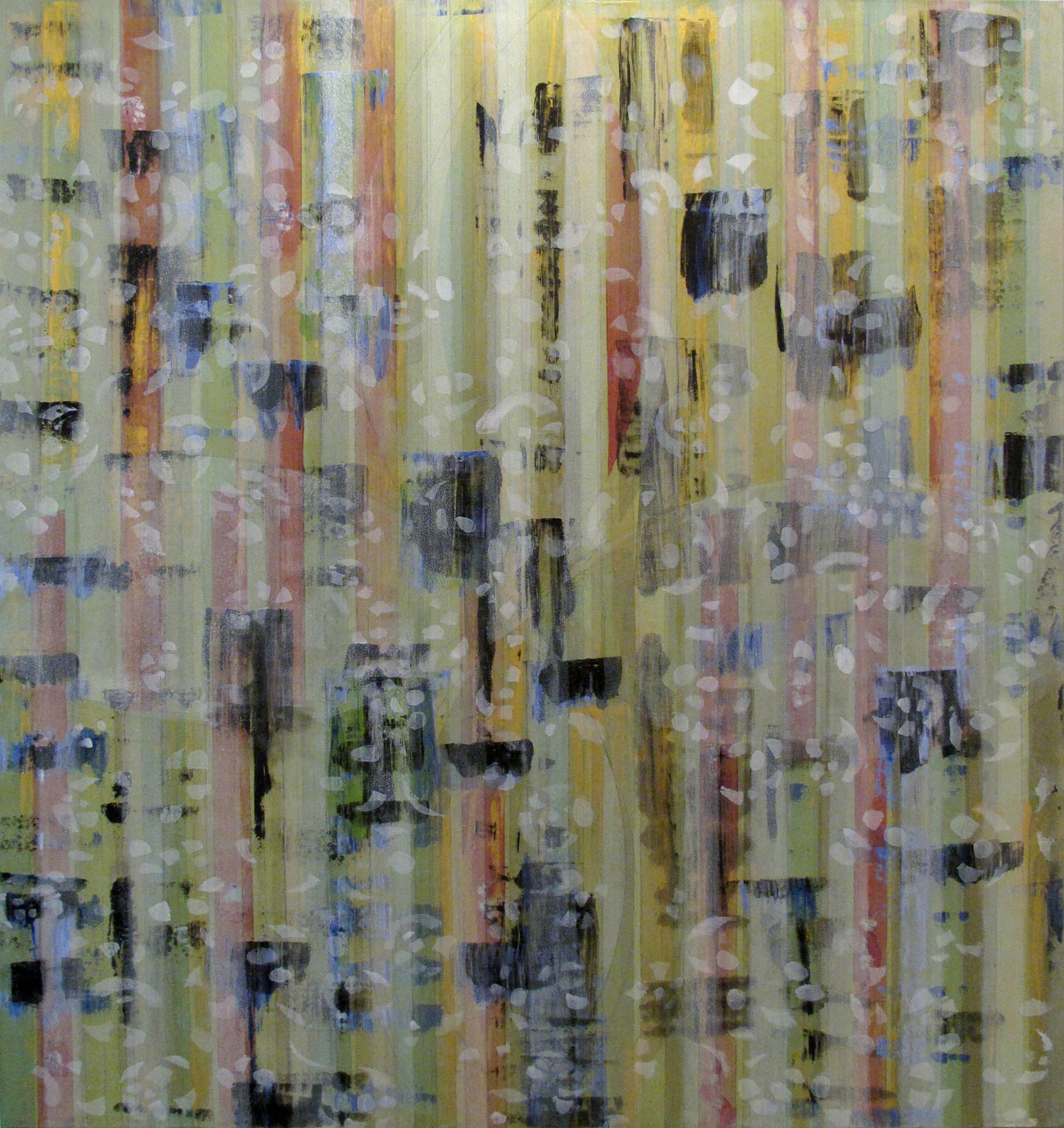 "Liminal Spaces  89 Elizabeth Chandler EC1059 Acrylic on Canvas 72"" x 64"""