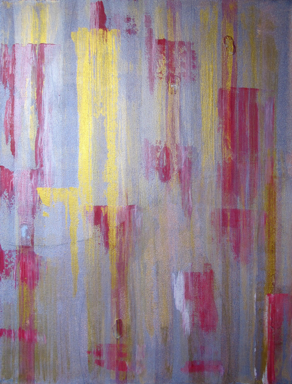 "Liminal Spaces  94 Elizabeth Chandler EC1052 Acrylic on Canvas 40"" x 30"""