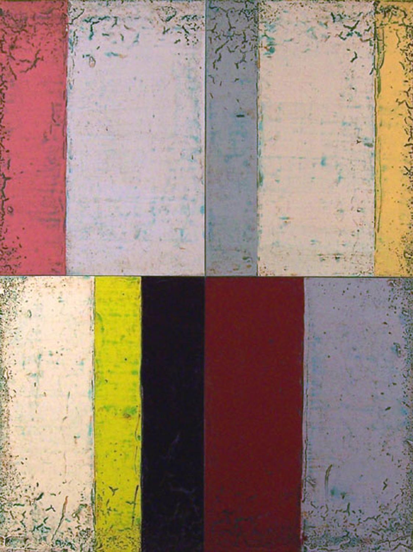 "Reluctant Host  Steven Alexander SA693 Acrylic on Canvas 48"" x 36"""