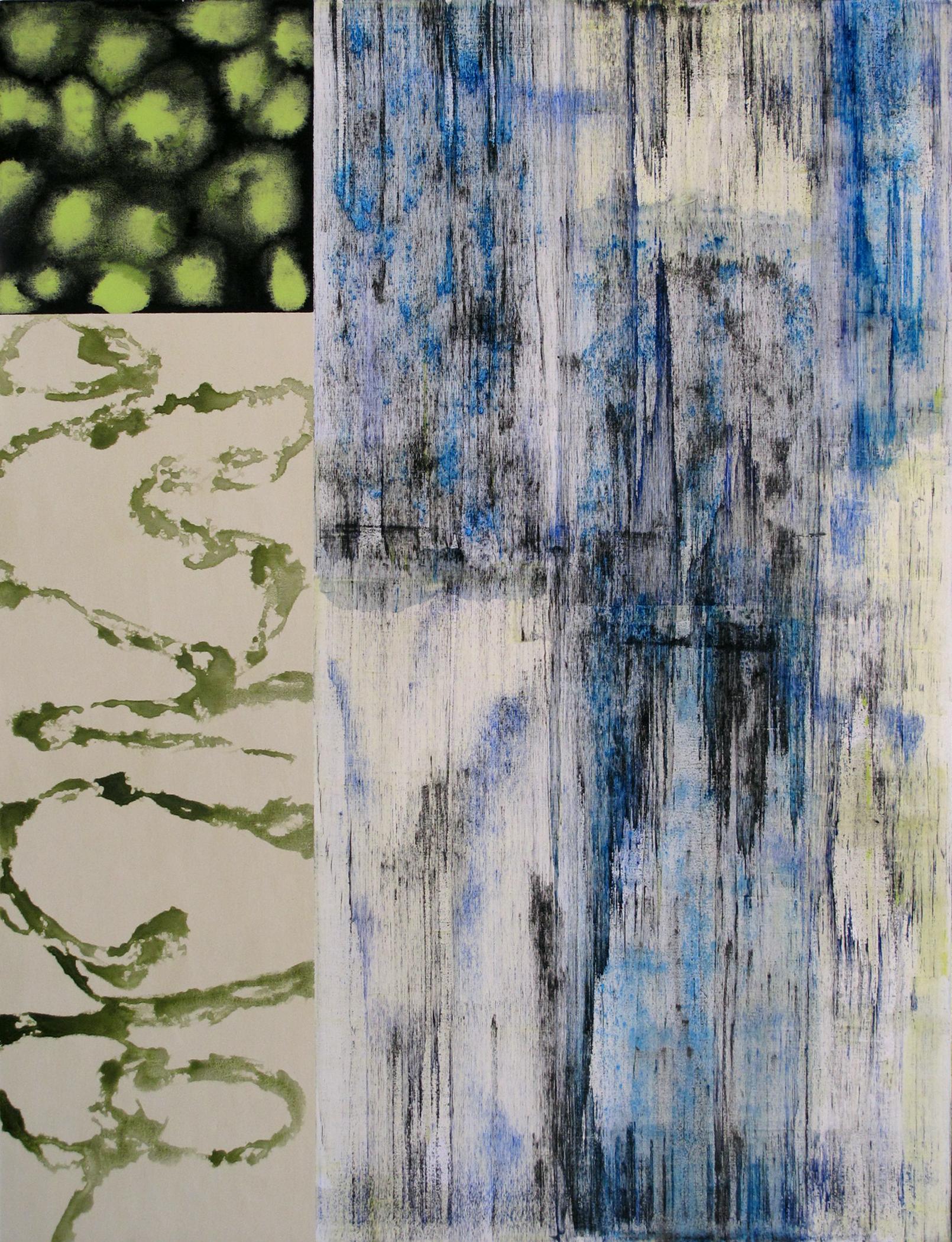 "Patterns 109  Jerrold Burchman BU246 Acrylic on Canvas 48"" x 36"""
