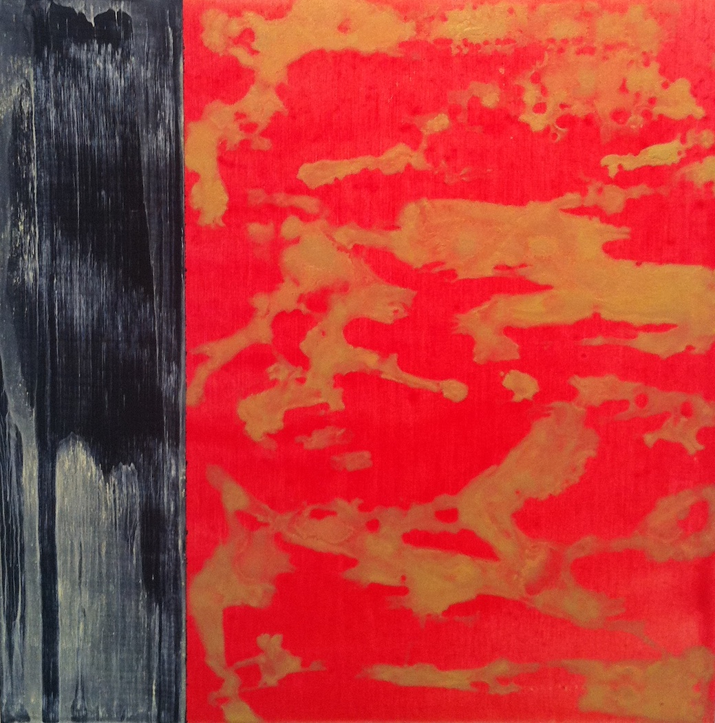 "La Piccola 10  Jerrold Burchman BU268 Acrylic on Wood Panel 12"" x 12"""