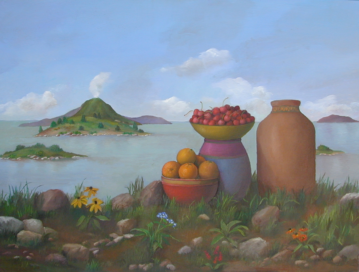 "Tuscany  Muriel Kalish MK139 Oil on Canvas 30"" x 40"""