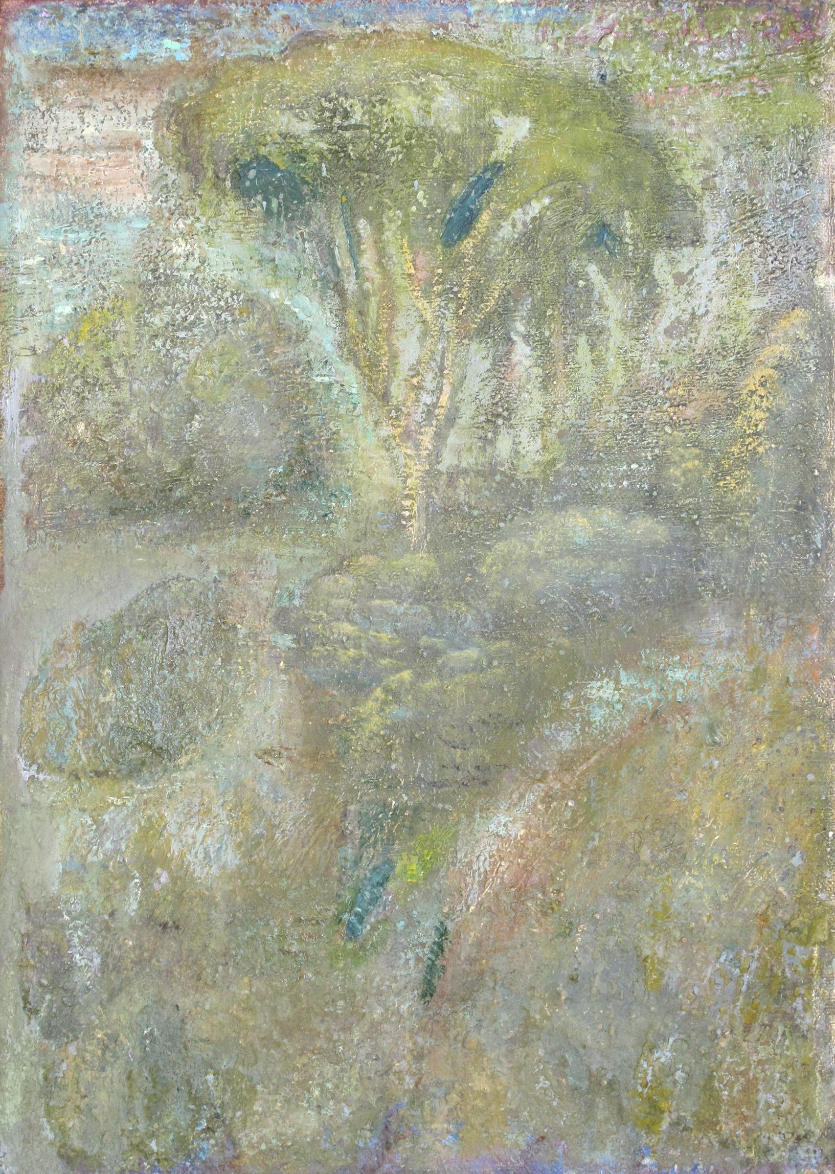 """Elm III  Eric Holzman HZ115 Oil on Canvas 14"""" x 10"""""""