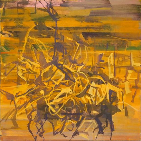 "Epithet  Marie Thibeault LT174 Oil on Canvas 30"" x 30"""
